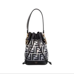 Fendi 2018 Mon Tresor Mini Bucket Bag Authentic